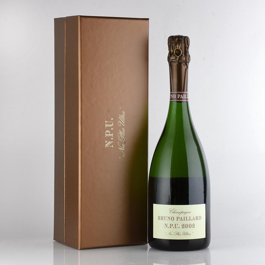 [2002] ブルーノ・パイヤール ネック・プリュ・ウルトラ N.P.U 【ギフト箱】フランス / シャンパーニュ / 発泡系・シャンパン