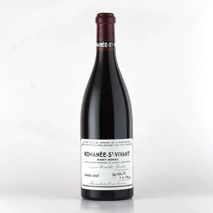 [2007] ドメーヌ・ド・ラ・ロマネ・コンティ DRCロマネ・サン・ヴィヴァンフランス / ブルゴーニュ / 赤ワイン[のこり1本]
