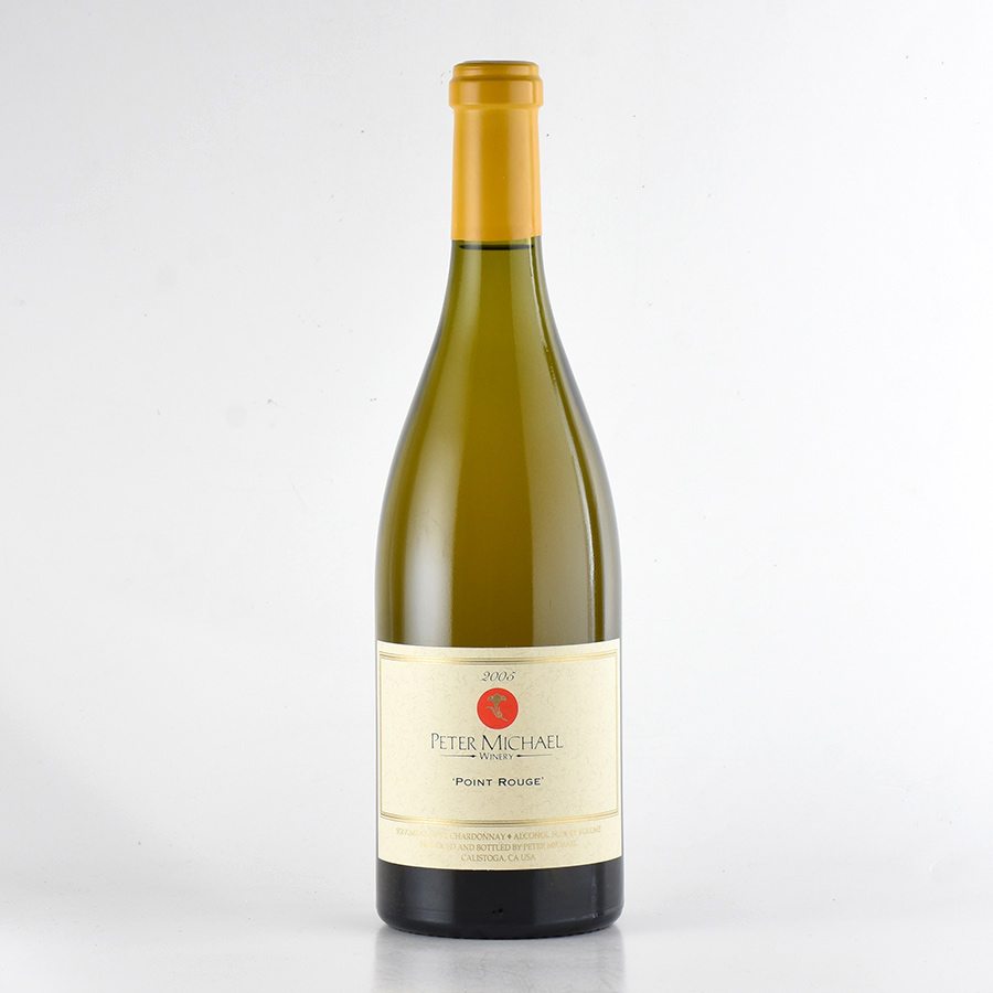 【新入荷★特別価格】[2005] ピーター・マイケルシャルドネ ポイント・ルージュアメリカ / カリフォルニア / 白ワイン