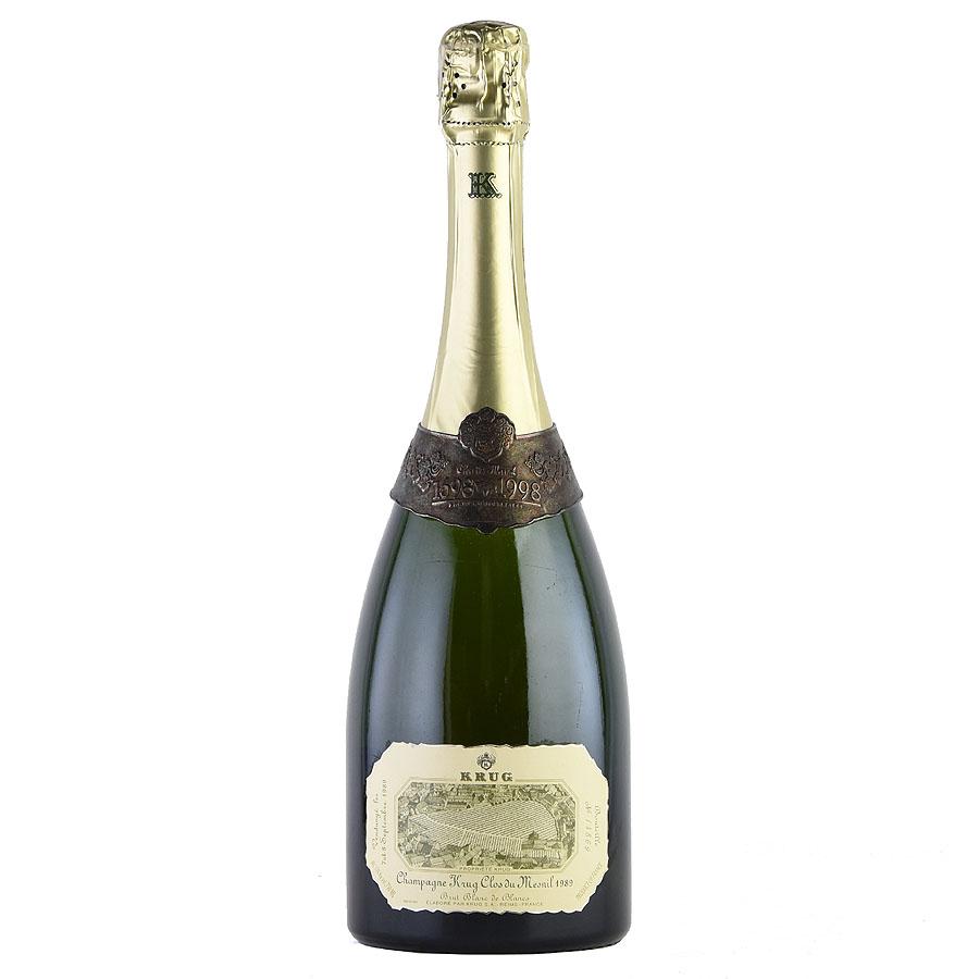 1989 クリュッグ クロ・デュ・メニル 300th アニバーサリーボトルフランス / シャンパーニュ / 発泡・シャンパン
