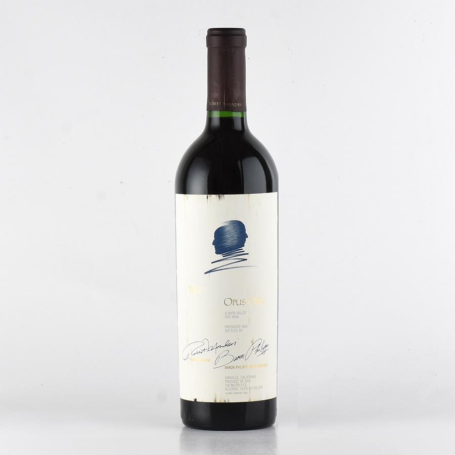[1992] オーパス・ワン※ラベル不良アメリカ / カリフォルニア / 赤ワイン[outlet]