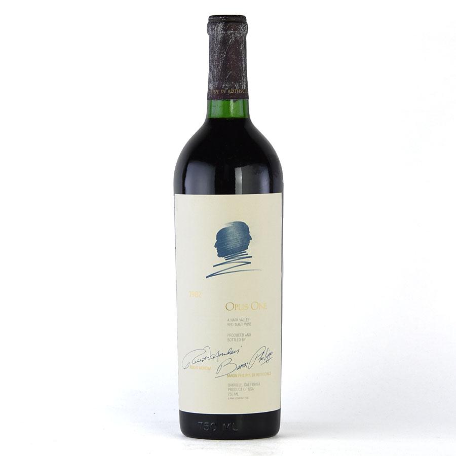 [1982] オーパス・ワン【オーパスワン】※キャップ腐食アメリカ / カリフォルニア / 赤ワイン