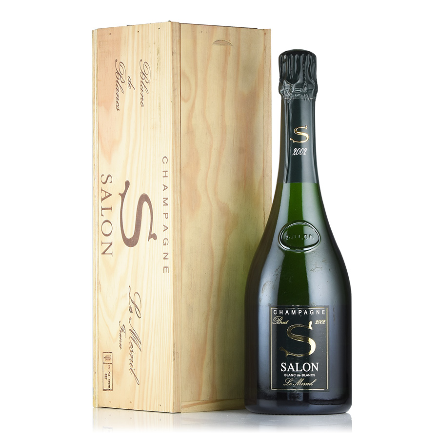 [2002] サロンブラン・ド・ブラン 【木箱入り】フランス / シャンパーニュ / 発泡系・シャンパン