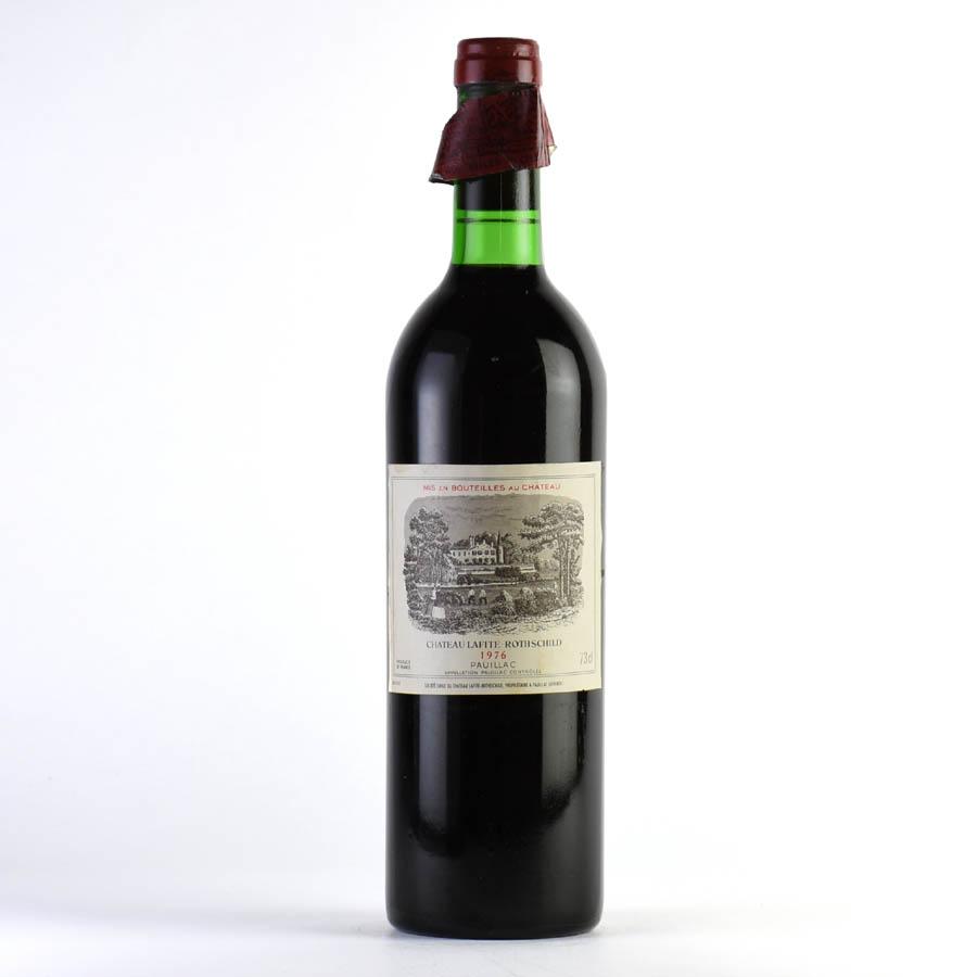 [1976] シャトー・ラフィット・ロートシルト ※ラベル汚れ、キャップシール破損ありフランス / ボルドー / 赤ワイン[outlet][のこり1本]