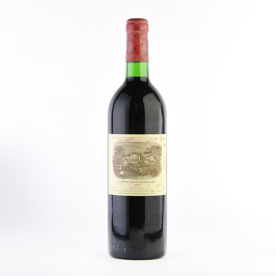 [1983] シャトー・ラフィット・ロートシルト※ラベル不良フランス / ボルドー / 赤ワイン[outlet]