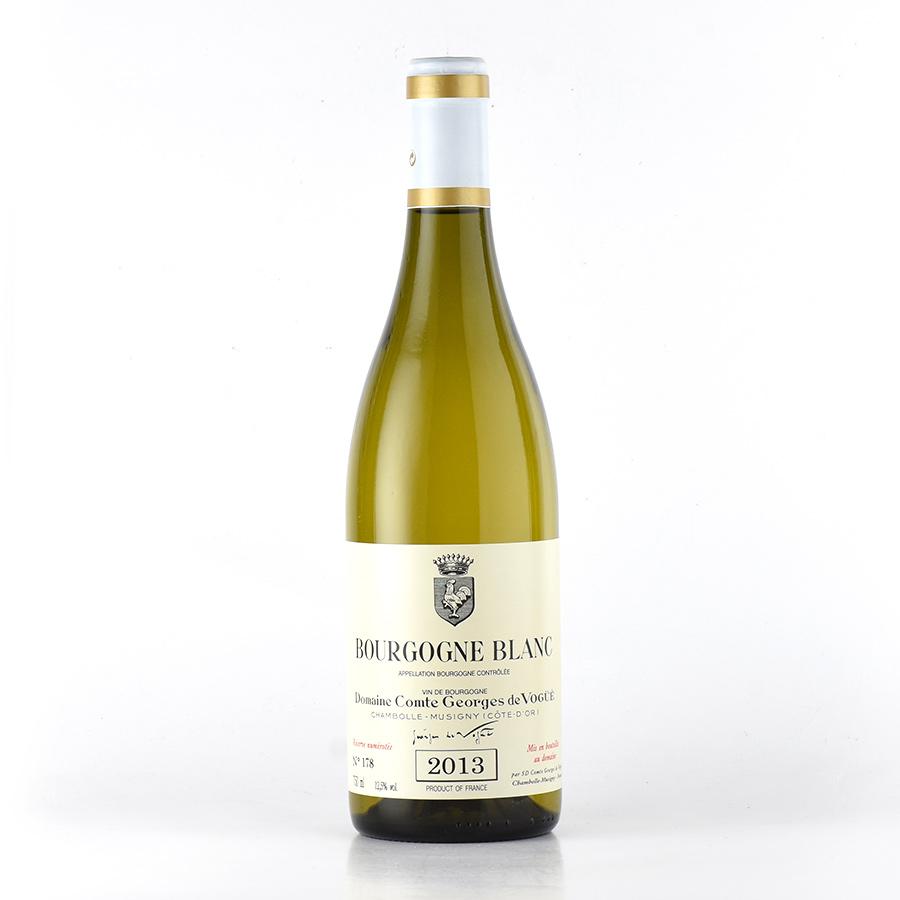 2013 コント・ジョルジュ・ド・ヴォギュエブルゴーニュ・ブランフランス / ブルゴーニュ / 白ワイン[のこり1本]