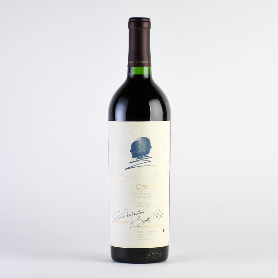 [1982] オーパス・ワン ※ラベル汚れ、傷アメリカ / カリフォルニア / 赤ワイン