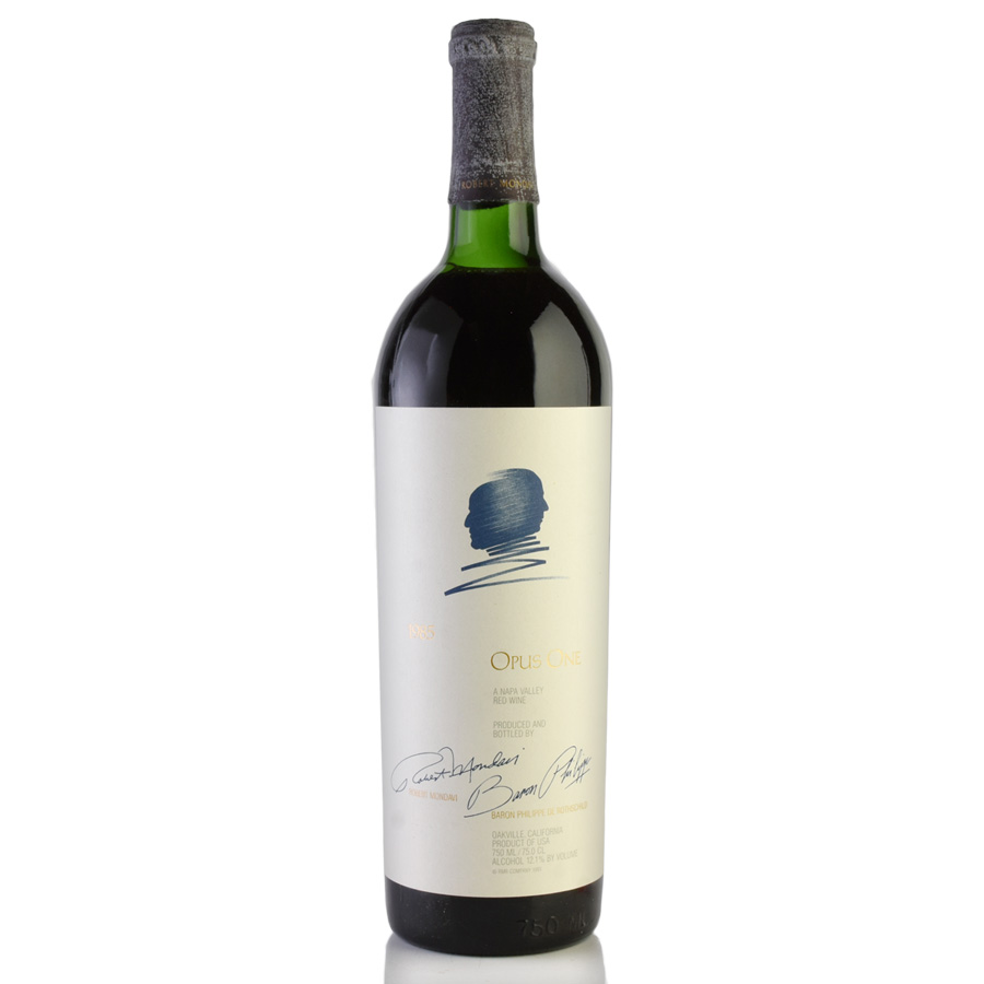 [1985] オーパス・ワン※ラベル不良アメリカ / カリフォルニア / 赤ワイン