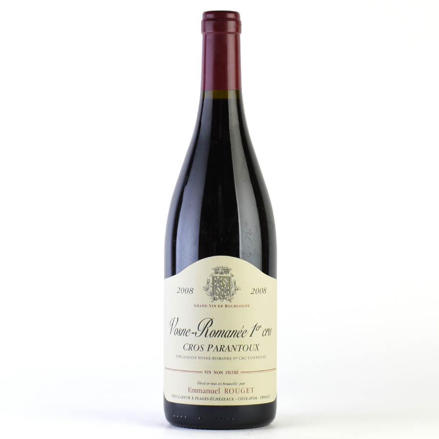 [2008] エマニュエル・ルジェ ヴォーヌ・ロマネ クロ・パラントゥー フランス / ブルゴーニュ / 赤ワイン