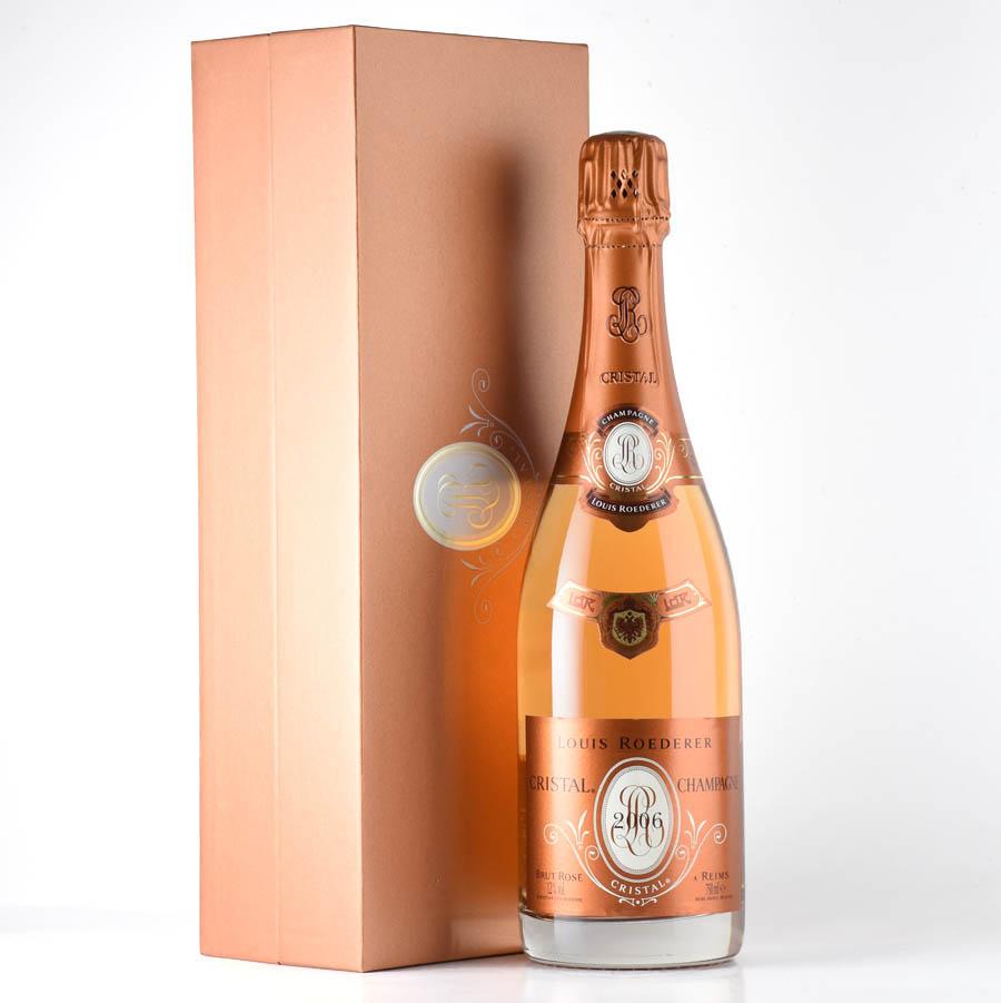 【新入荷★特別価格】[2006] ルイ・ロデレールクリスタル・ロゼ 【ギフトボックス】フランス / シャンパーニュ / 発泡系・シャンパン
