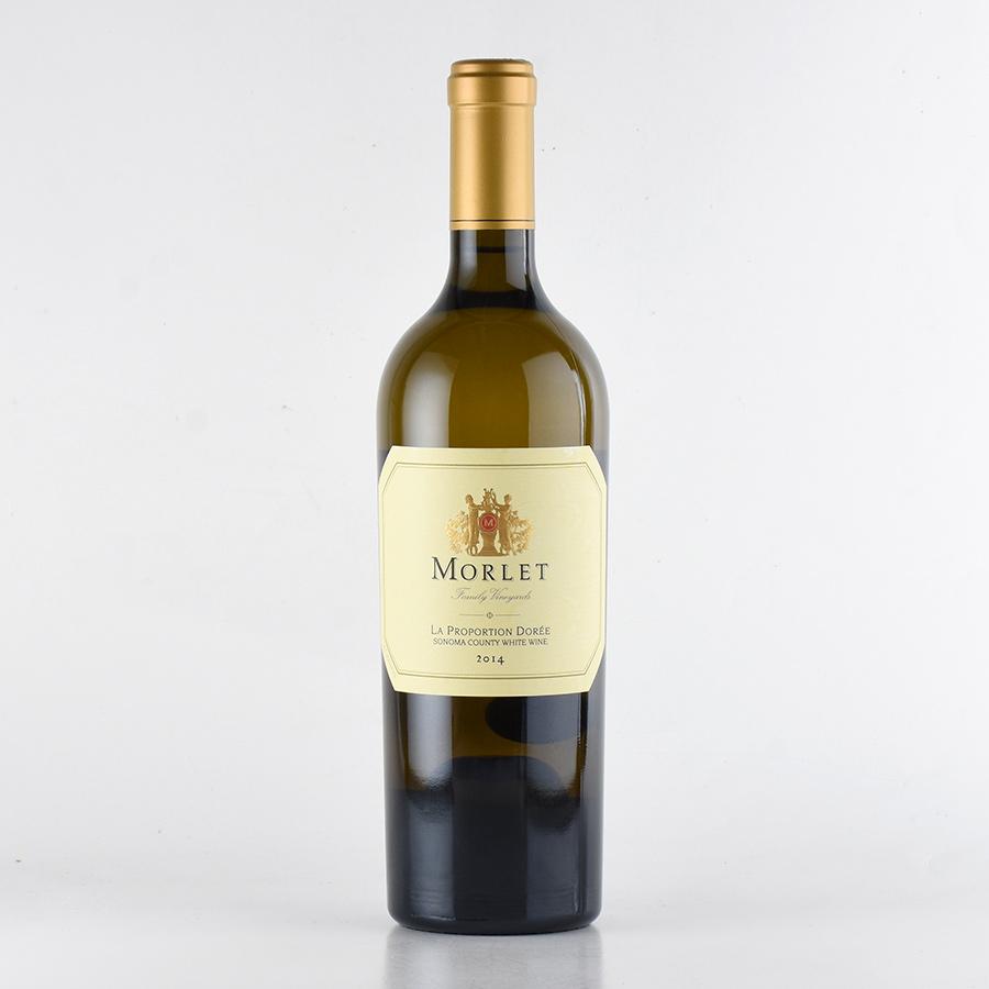 【新入荷★特別価格】[2014] モレ【モルレ】ラ・プロポーション・ドーレアメリカ / カリフォルニア / 白ワイン