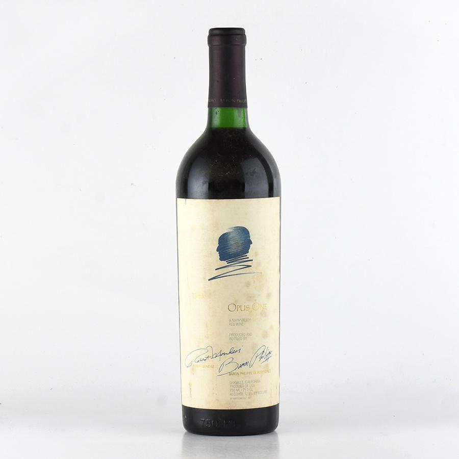 【新入荷★特別価格】[1983] オーパス・ワン※ラベル汚れアメリカ / カリフォルニア / 赤ワイン