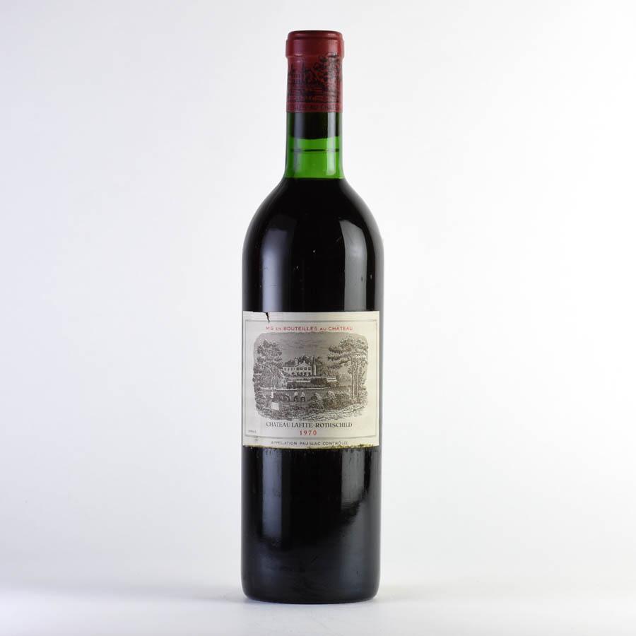 [1970] シャトー・ラフィット・ロートシルト ※ラベル破れフランス / ボルドー / 赤ワイン[のこり1本]