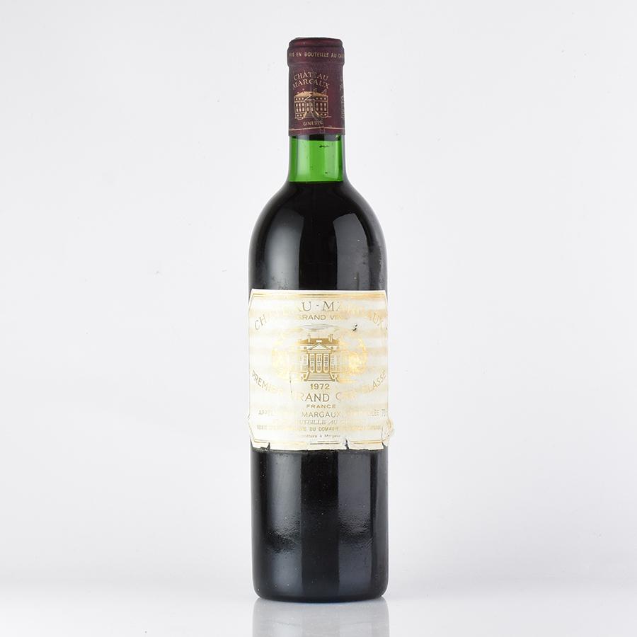 [1972] シャトー・マルゴー ※ラベル不良フランス / ボルドー / 赤ワイン