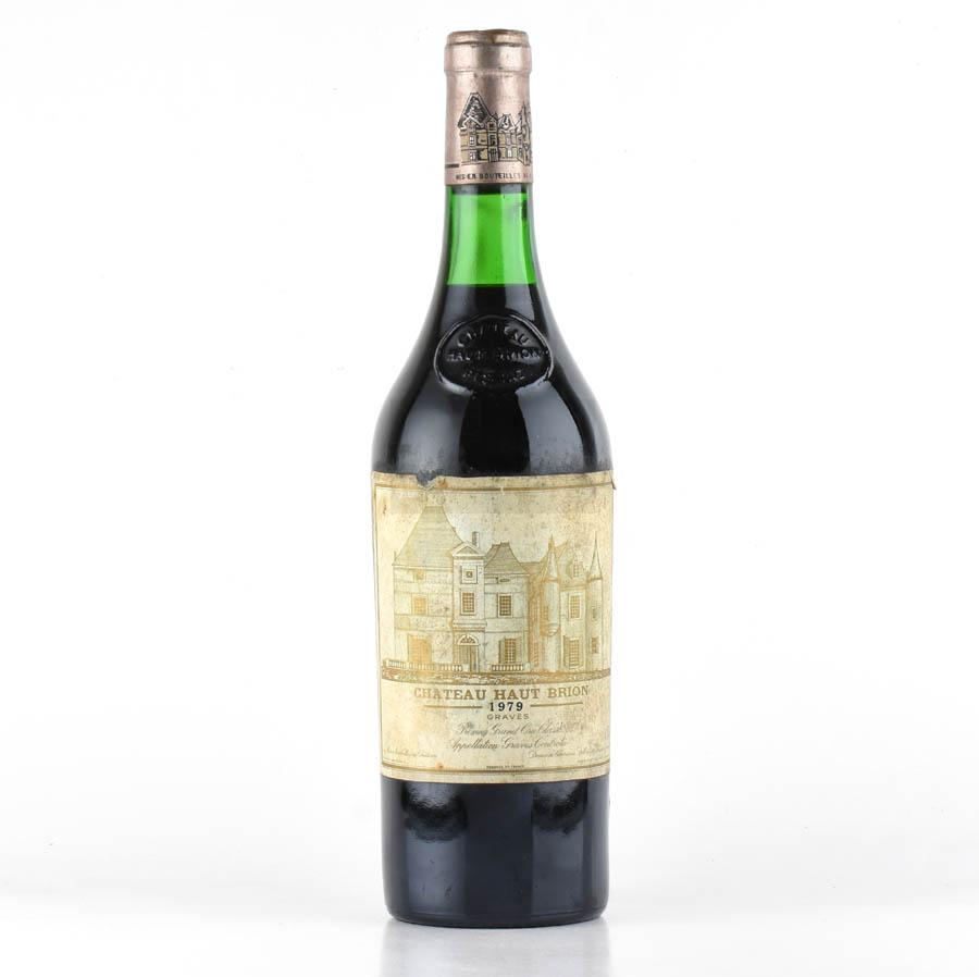 [1979] シャトー・オー・ブリオン※ラベル不良フランス / ボルドー / 赤ワイン[outlet][のこり1本]