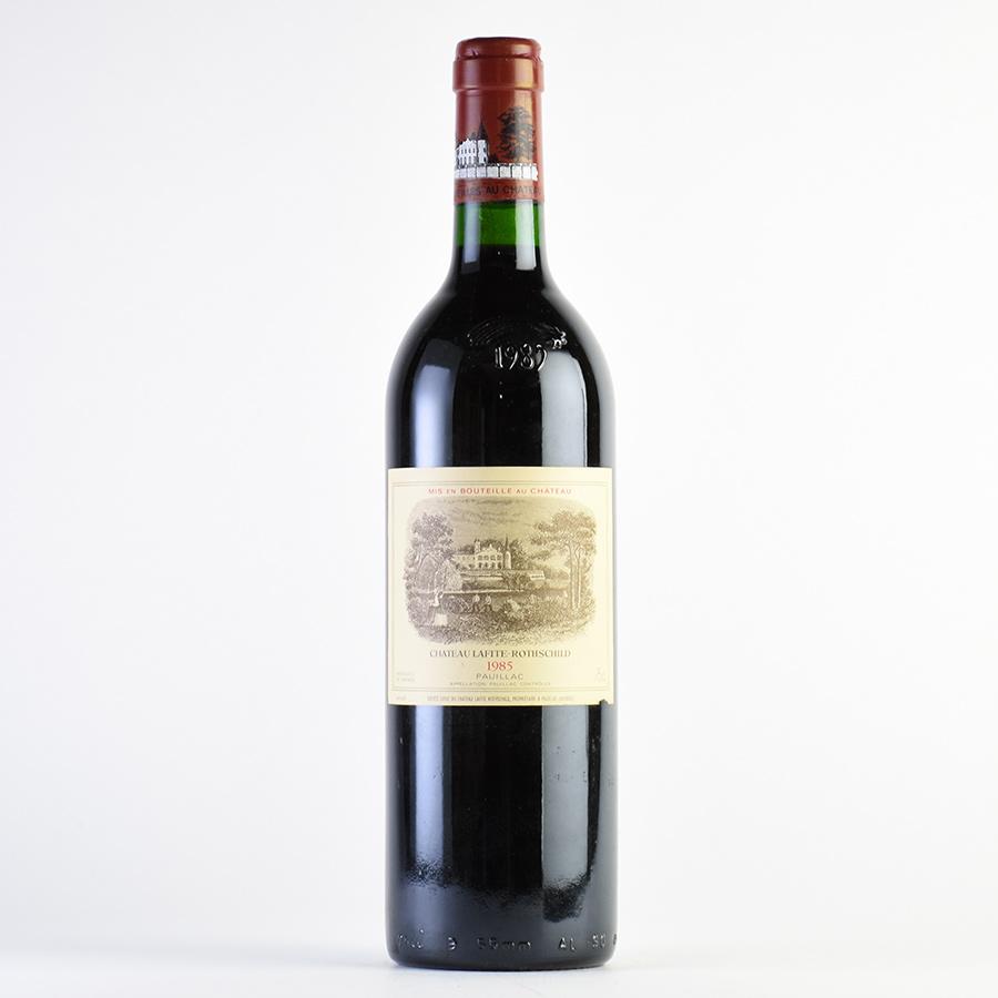 [1985] シャトー・ラフィット・ロートシルト ※ラベル傷フランス / ボルドー / 赤ワイン[のこり1本]