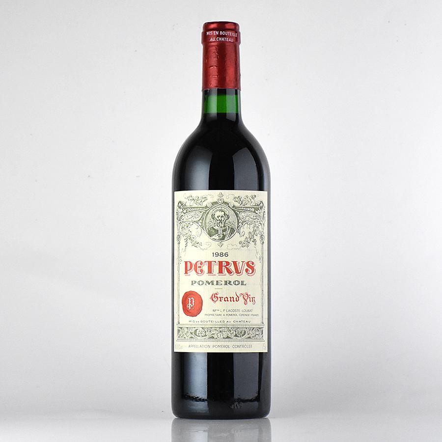 [1986] シャトー・ペトリュスフランス / ボルドー / 赤ワイン