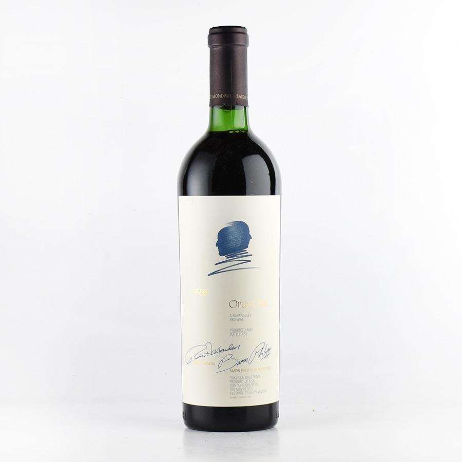 [1988] オーパス・ワン ※キャップシール不良アメリカ / カリフォルニア / 赤ワイン