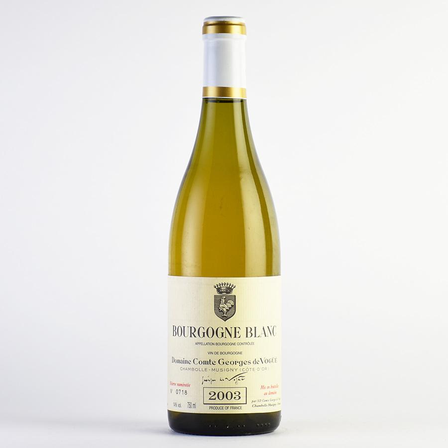 2003 コント・ジョルジュ・ド・ヴォギュエブルゴーニュ・ブランフランス / ブルゴーニュ / 白ワイン