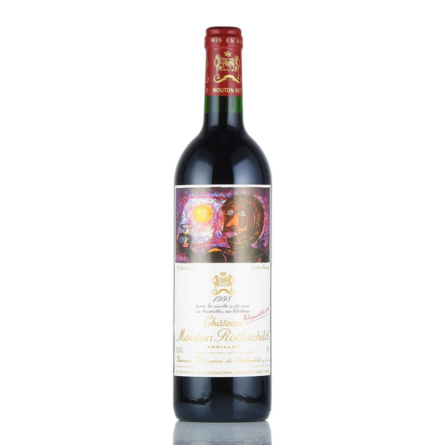 [1998] シャトー・ムートン・ロートシルトフランス / ボルドー / 赤ワイン