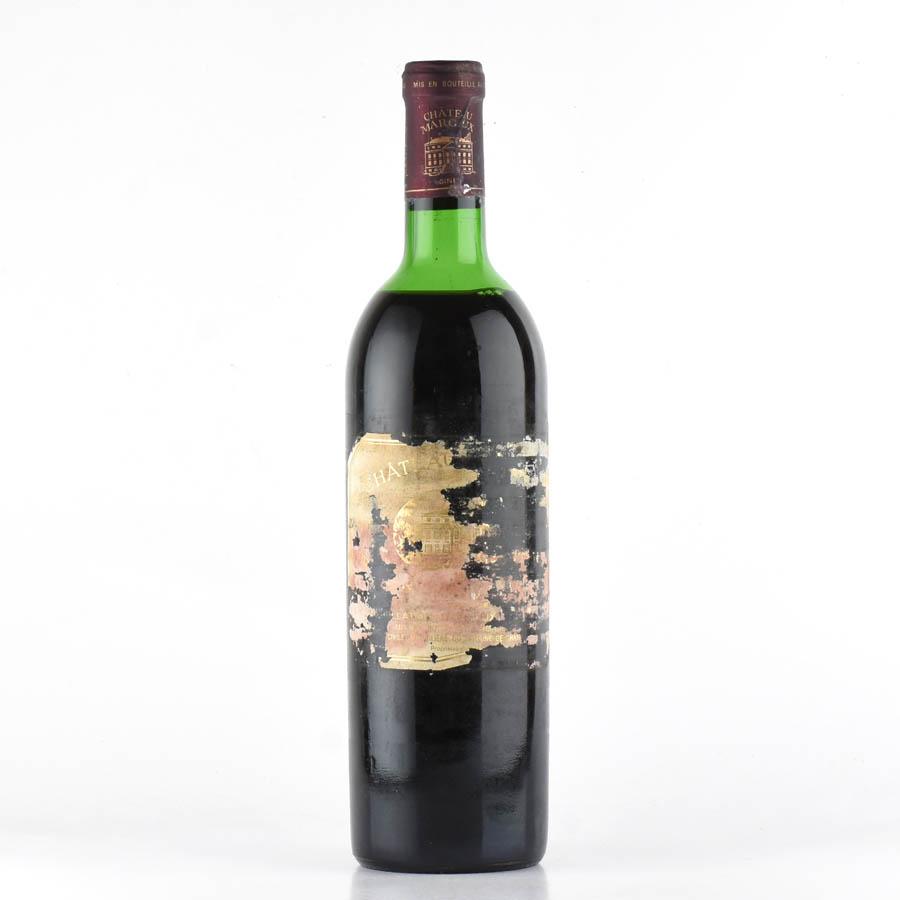 [1972] シャトー・マルゴー※ラベル不良フランス / ボルドー / 赤ワイン