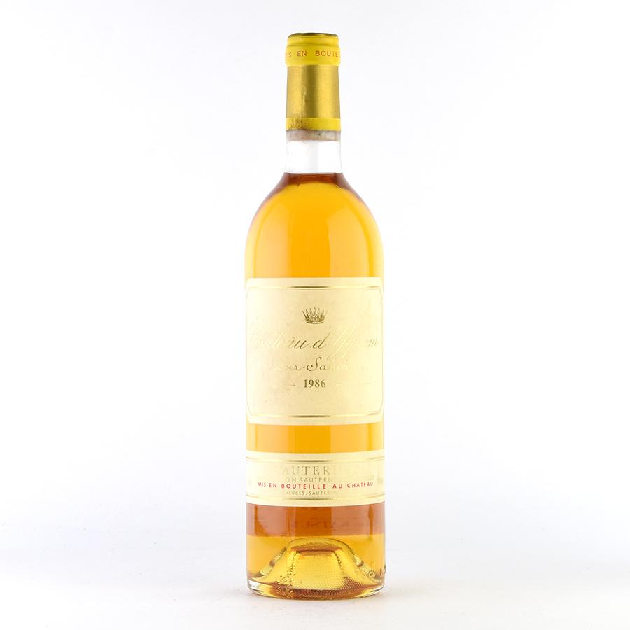1986 シャトー・ディケム【イケム】フランス / ボルドー / 白ワイン