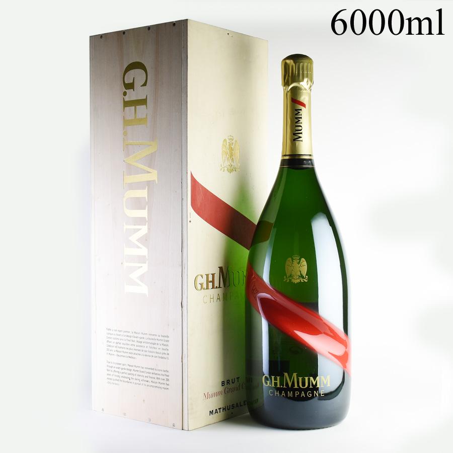 NV マムグラン・コルドン マチュザレム 6000ml 【正規品】 【木箱入り】フランス / シャンパーニュ / 発泡系・シャンパン
