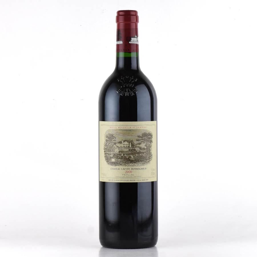 [2000] シャトー・ラフィット・ロートシルトフランス / ボルドー / 赤ワイン[のこり1本]