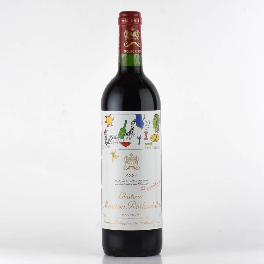 [1997] シャトー・ムートン・ロートシルトフランス / ボルドー / 赤ワイン[のこり1本]