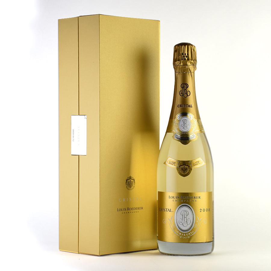 [2008] ルイ・ロデレールクリスタル 【ギフトボックス】【正規品】フランス / シャンパーニュ / 発泡系・シャンパン