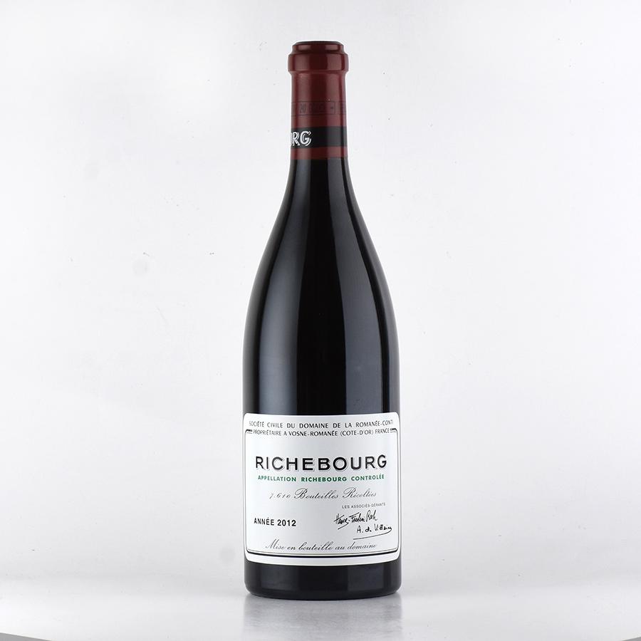 [2012] ドメーヌ・ド・ラ・ロマネ・コンティ DRCリシュブール【正規品】フランス / ブルゴーニュ / 赤ワイン