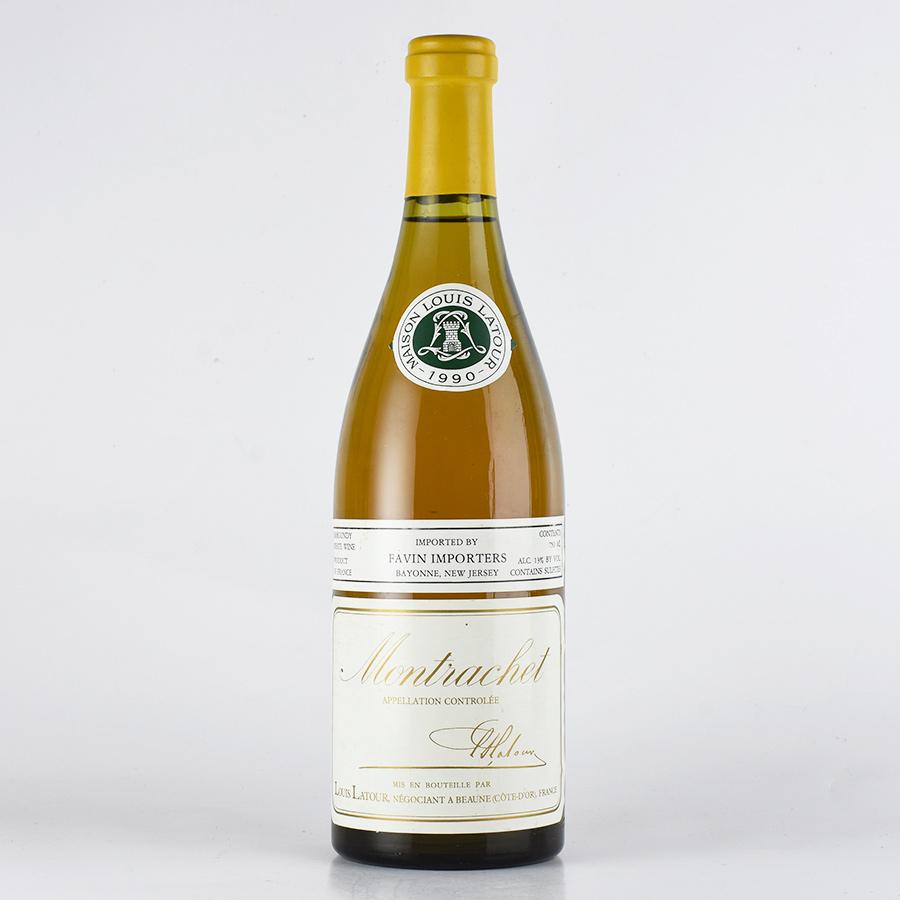 [1990] ルイ・ラトゥール モンラッシェ※コルク下がりフランス / ブルゴーニュ / 白ワイン
