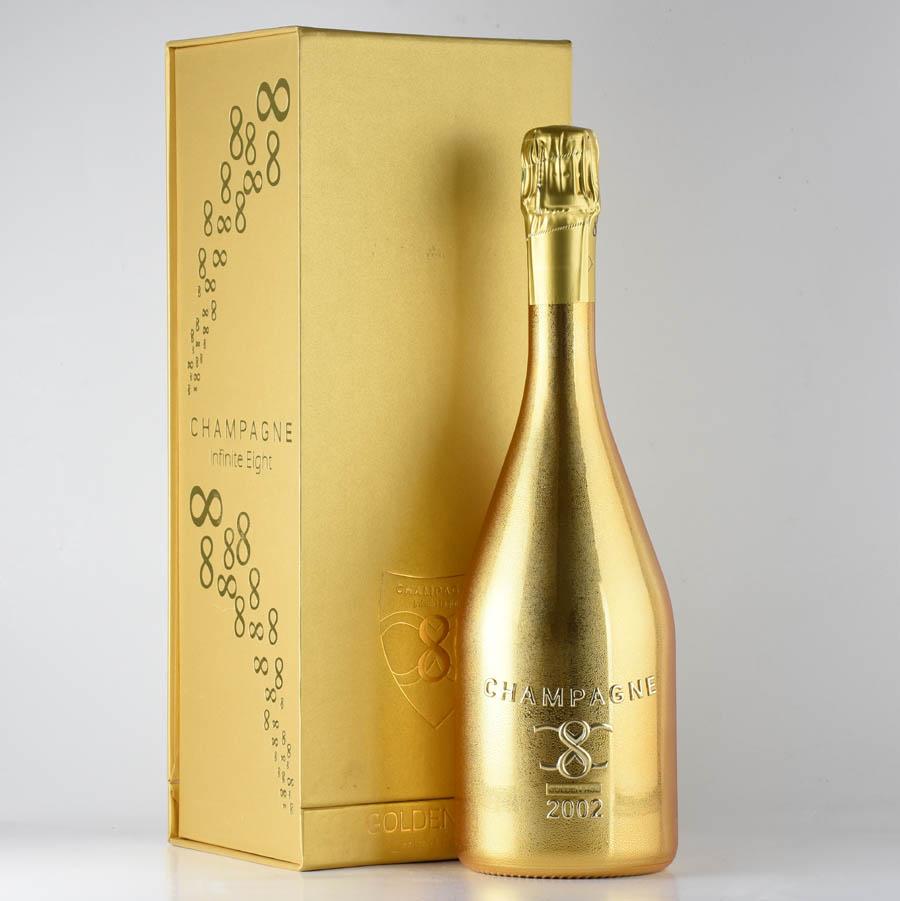 【新入荷★特別価格】[2002] インフィニット・エイトゴールデン・エイジ 【ギフトボックス】フランス / シャンパーニュ / 発泡系・シャンパン