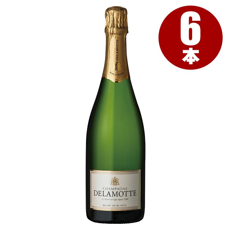 NV ドゥラモット ブリュット ブラン・ド・ブラン 1ケース【6本】フランス / シャンパーニュ / 発泡系・シャンパン