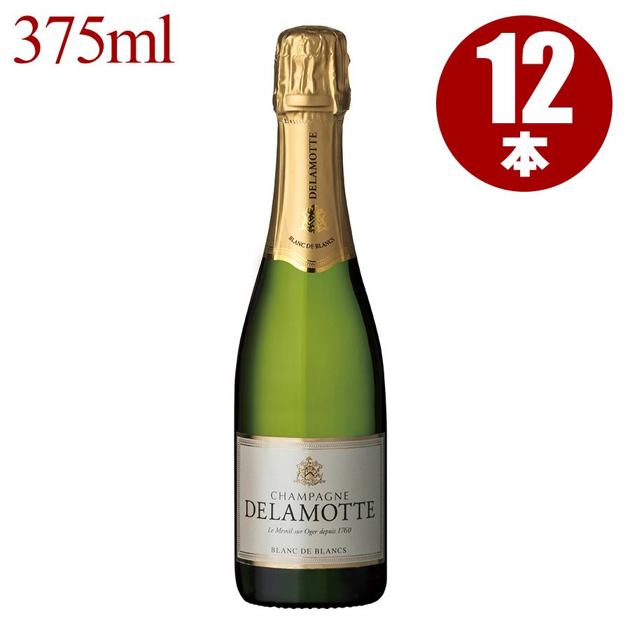 NV ドゥラモット ブリュット ブラン・ド・ブラン ハーフ 375ml 1ケース【12本】フランス / シャンパーニュ / 発泡系・シャンパン