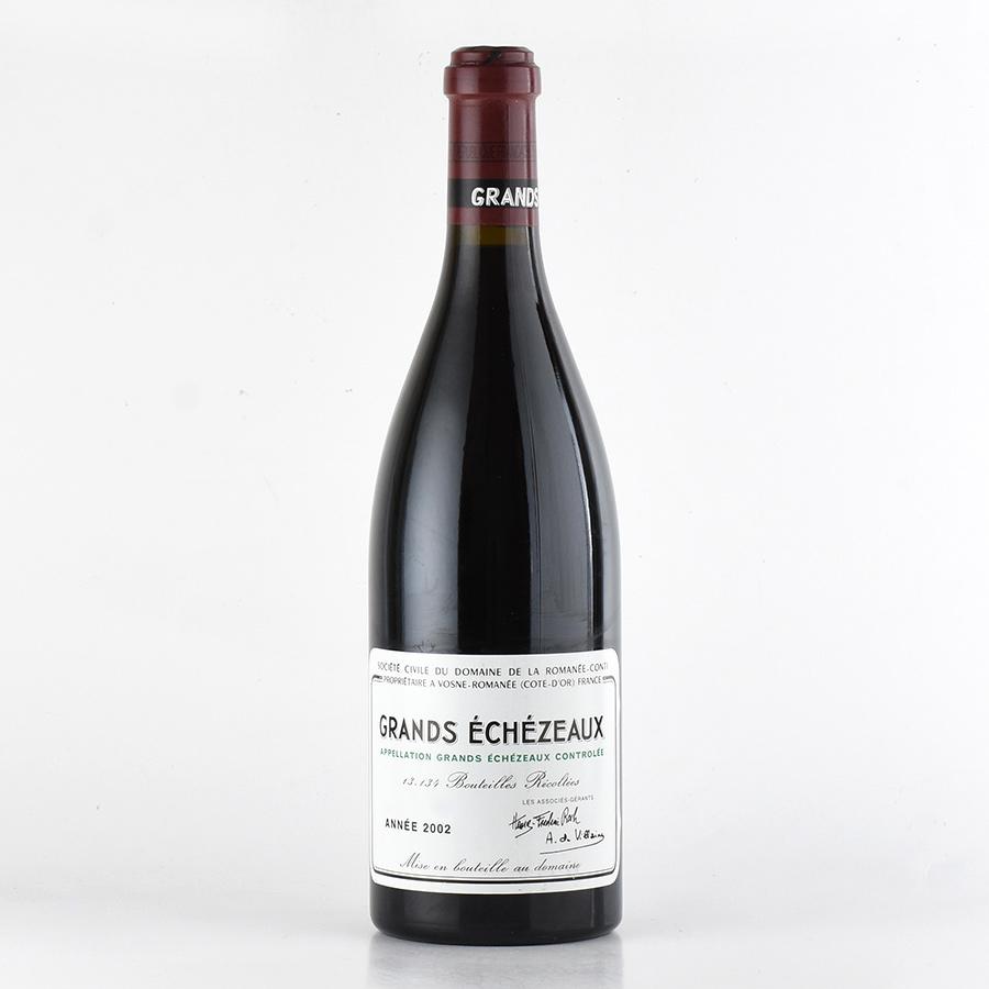 【新入荷★特別価格】[2002] ドメーヌ・ド・ラ・ロマネ・コンティ DRCグラン・エシェゾーフランス / ブルゴーニュ / 赤ワイン