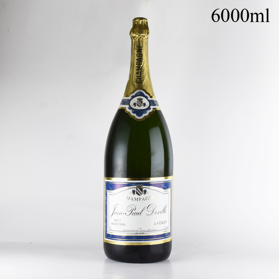 NV ジャン・ポール・ドゥヴィル セレクション 6000mlフランス / シャンパーニュ / 発泡系・シャンパン[のこり1本]