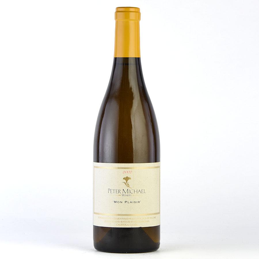 [2002] ピーター・マイケル シャルドネ モン・プレジールアメリカ / カリフォルニア / 白ワイン