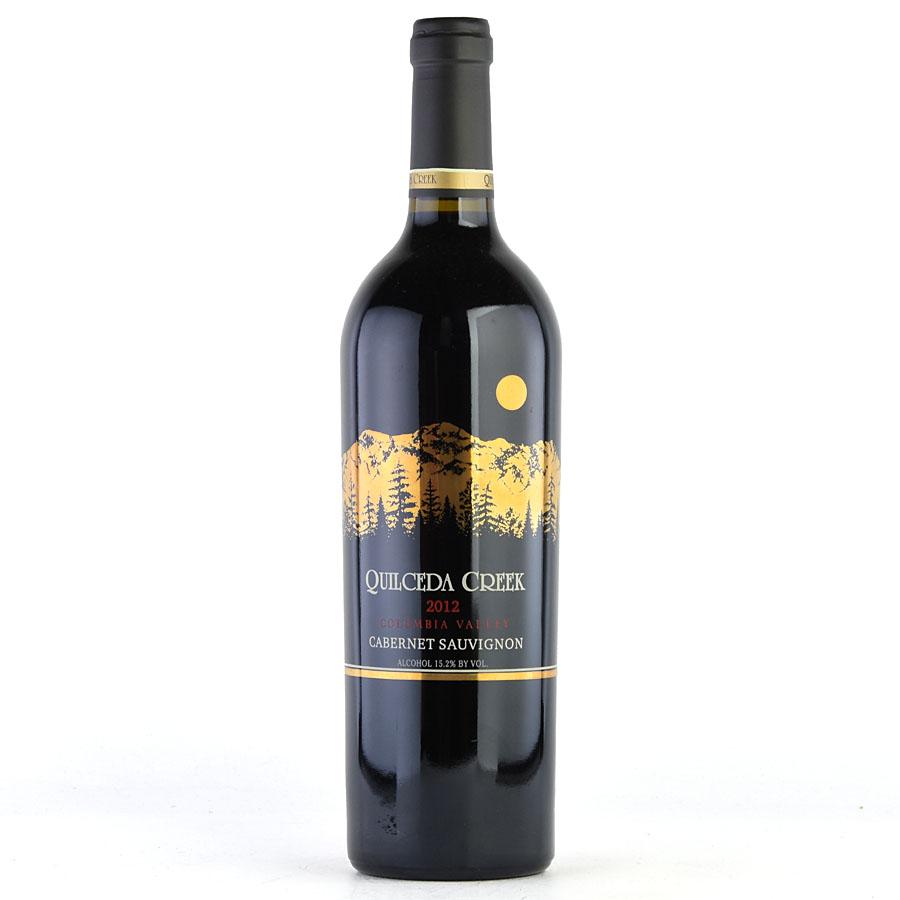 [2012] クィルシーダ・クリーク カベルネ・ソーヴィニヨンアメリカ / ワシントン / 赤ワイン