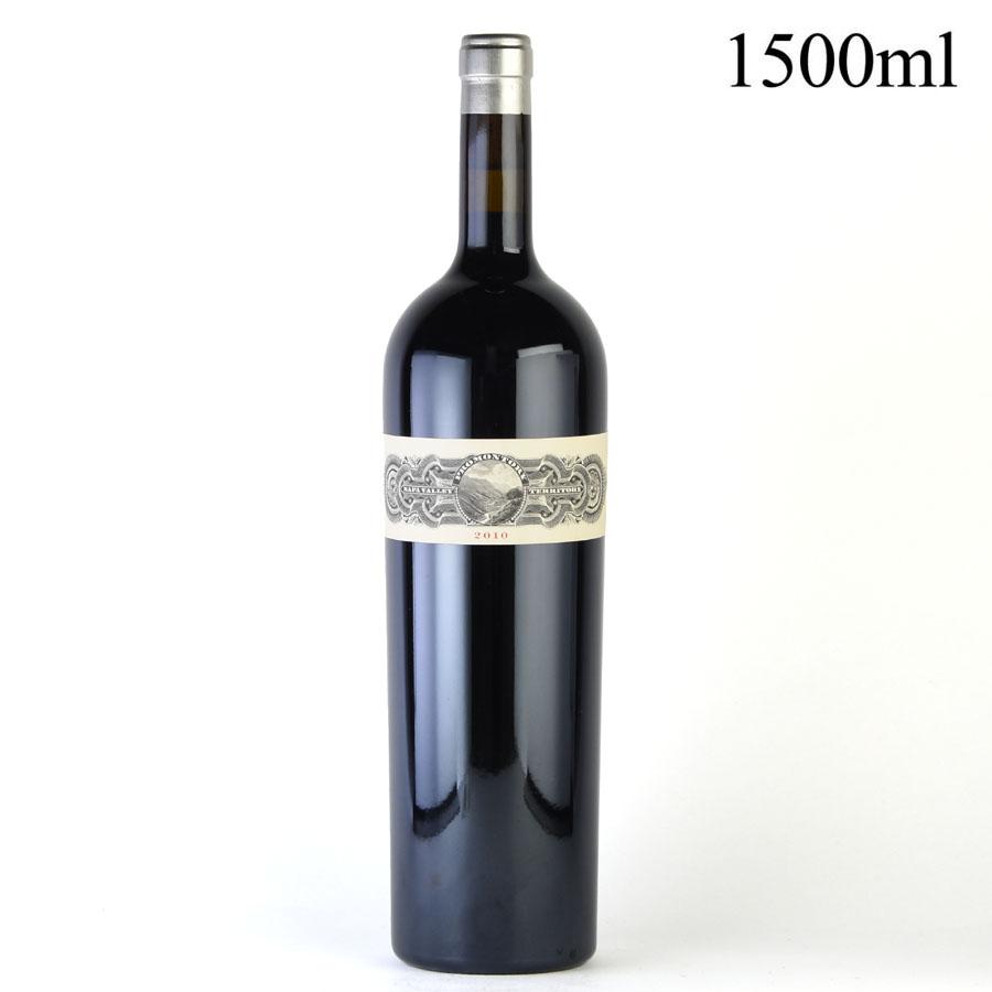 [2010] プロモントリー プロプライエタリー・レッド マグナム 1500ml 【箱なし】アメリカ / カリフォルニア / 赤ワイン[のこり1本]