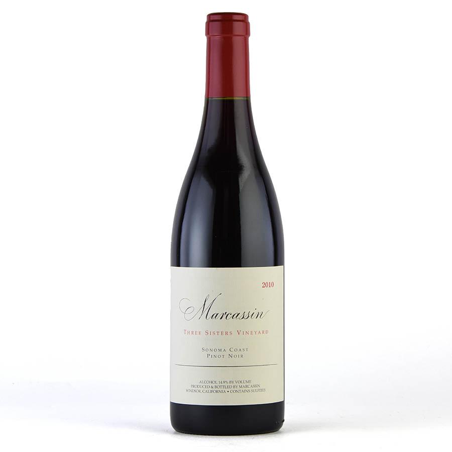[2010] マーカッシン ピノ・ノワール スリー・シスターズ・ヴィンヤードアメリカ / カリフォルニア / 赤ワイン