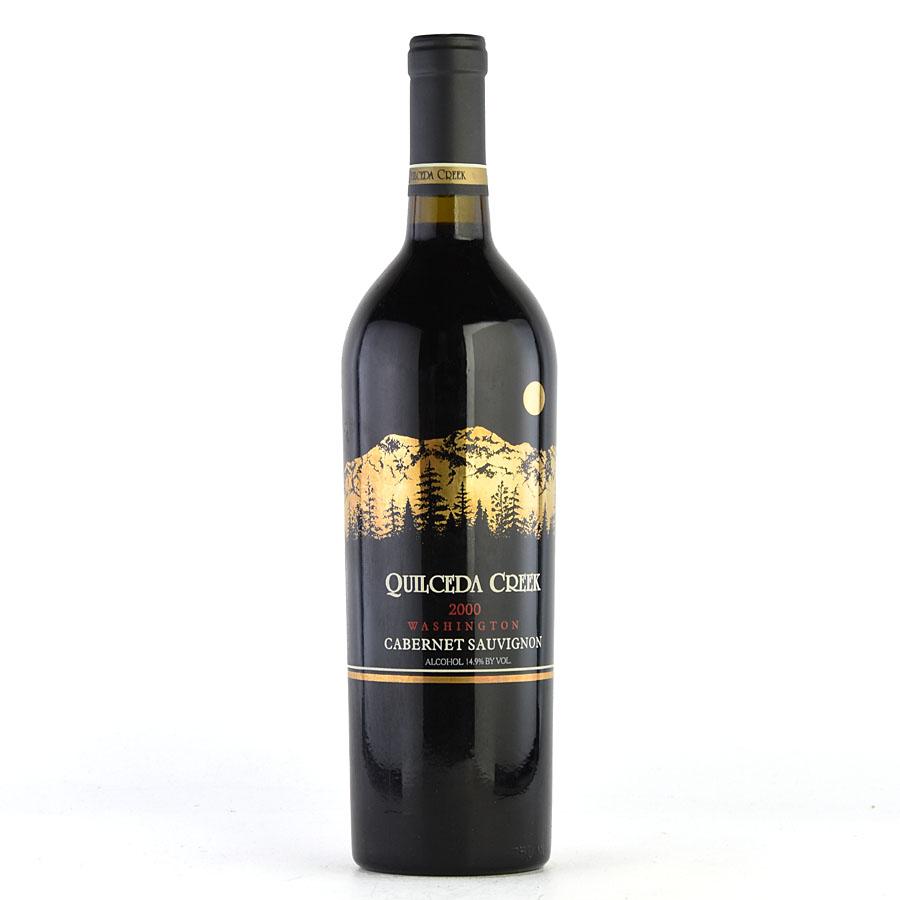 [2000] クイルシーダ・クリーク カベルネ・ソーヴィニヨンアメリカ / ワシントン / 赤ワイン