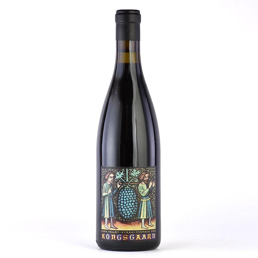 [2008] コングスガード シラーアメリカ / カリフォルニア / 赤ワイン