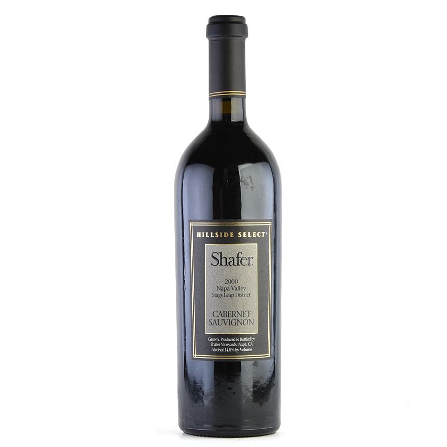 [2000] シェーファー カベルネ・ソーヴィニヨン ヒルサイド・セレクトアメリカ / カリフォルニア / 赤ワイン