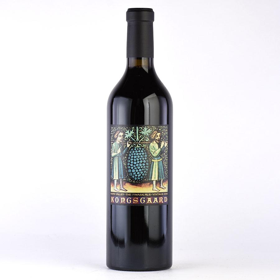 [2010] コングスガード ザ・フィマサウルスアメリカ / カリフォルニア / 赤ワイン[のこり1本]