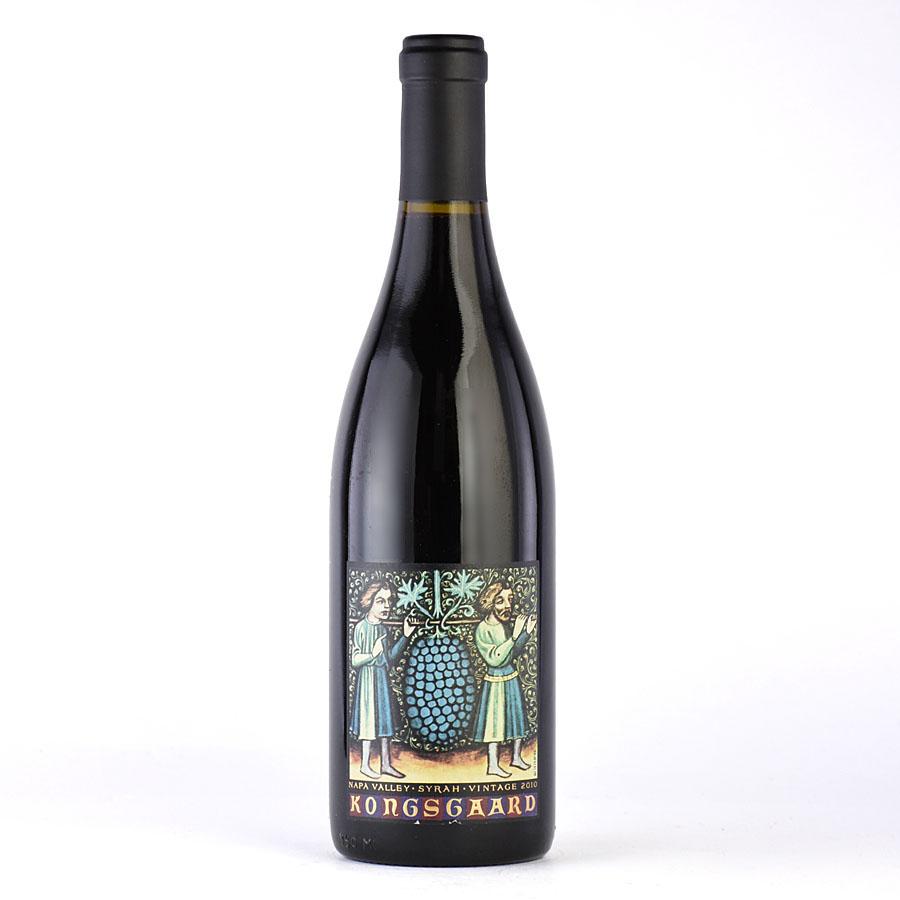 [2010] コングスガード シラーアメリカ / カリフォルニア / 赤ワイン[のこり1本]