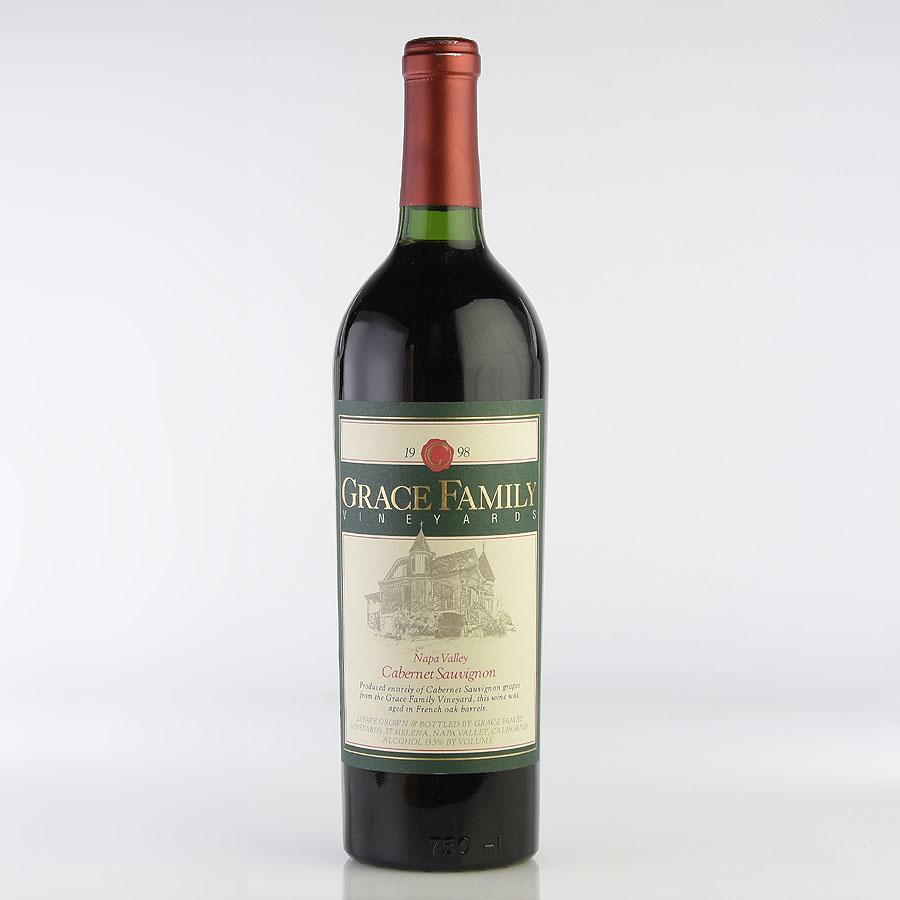 [1998] グレース・ファミリー カベルネ・ソーヴィニヨンアメリカ / カリフォルニア / 赤ワイン[のこり1本]