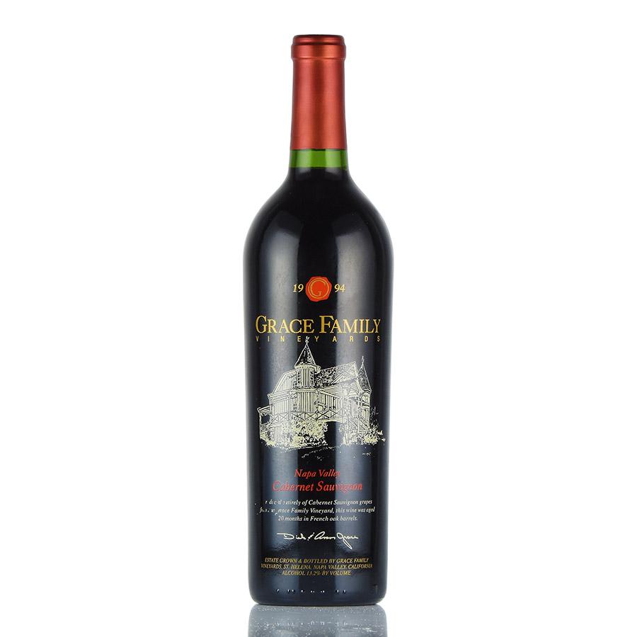 [1994] グレース・ファミリー カベルネ・ソーヴィニヨンアメリカ / カリフォルニア / 赤ワイン[のこり1本]