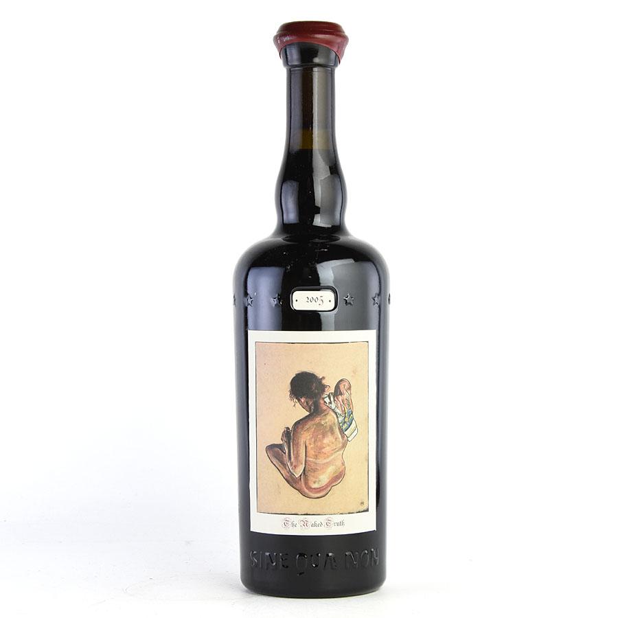 [2005] シン・クア・ノン ザ・ネイキッド・トゥルース グルナッシュアメリカ / カリフォルニア / 赤ワイン[のこり1本]