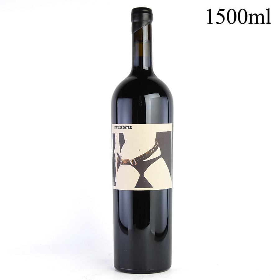 カリフォルニア 1500mlアメリカ / マグナム 赤ワイン シン・クア・ノン ファイブ・シューター シラー / [2010]